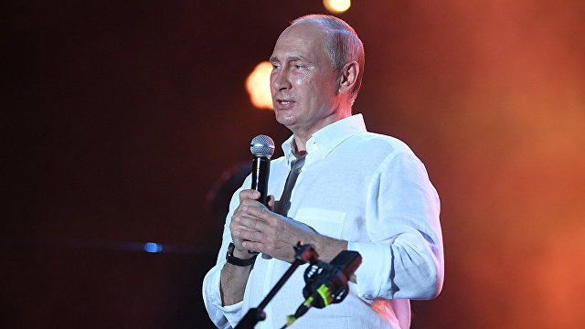 Владимир Путин Koktebel Jazz Party фестивальни зиярет этти